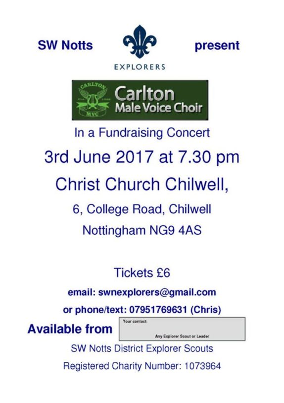 Carlton Male Voice Choir Concert