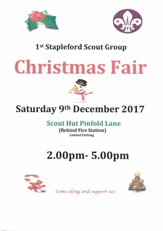 1st Stapleford fund raiser 1